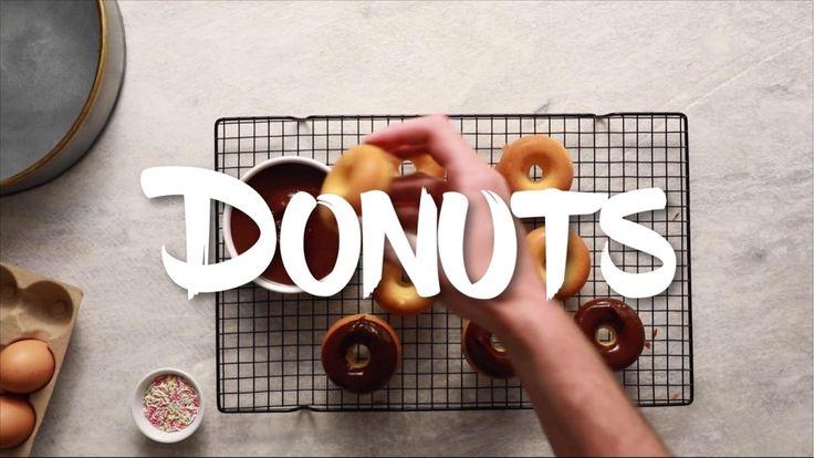 Πανεύκολα donuts φούρνου   TheEaters