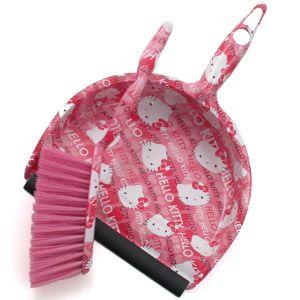 Hello Kitty Broom and Dustpan