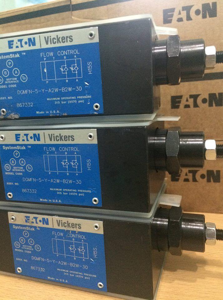 Eaton Vickers Flow Control Valve Hydraulic DGMFN 5 Y A2W B2W