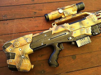 Nerf Longshot CS 6 Custom Paint Call of Duty Modern Warfare 3 Black Ops Xbox 360 | eBay