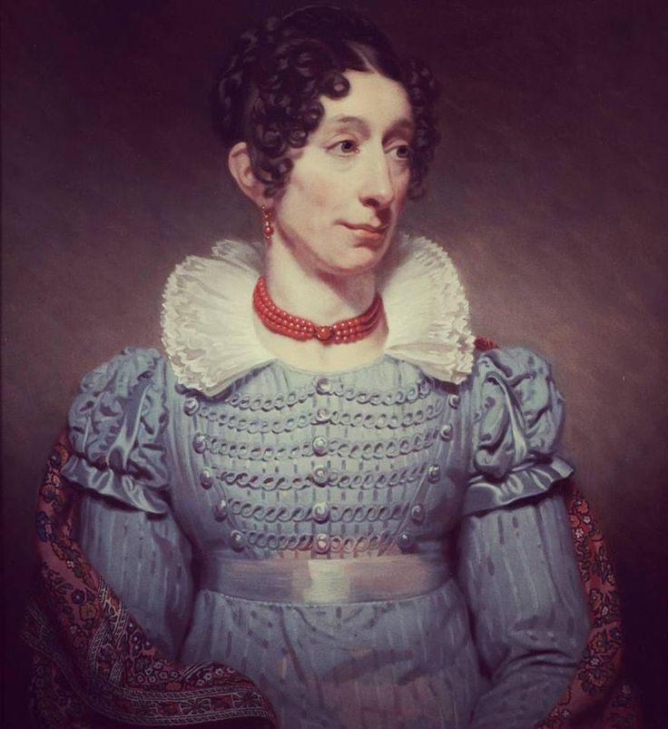 Portrait of Alida Gerbade by Charles Howard Hodges, 1821. Collectie Museum De Lakenhal