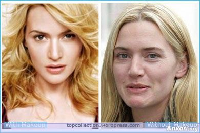 I love how real Kate Winslet is - she won't let people airbrush her, lie about her size and she continually reaffirms that she doesn't look like what the magazines show you.