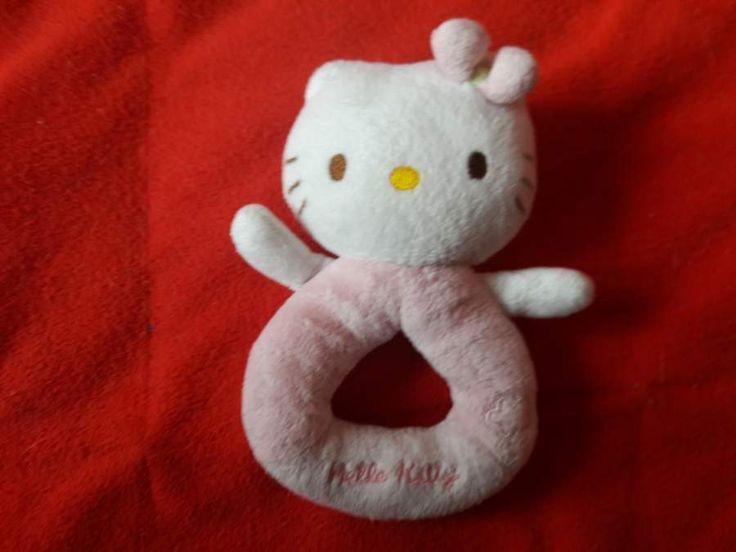Nabízím pro nejmenší plyšové chrastítko Hello Kitty.