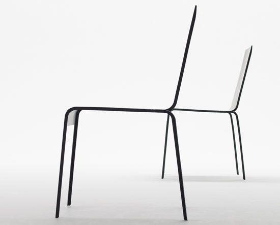 carbon fiber chair by shigeru ban