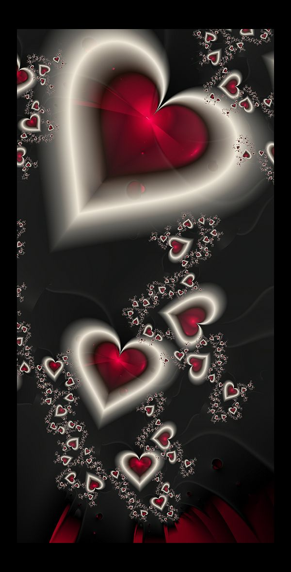 untitled fractals: 8 by celestial-void on deviantart ~ valentine fractal