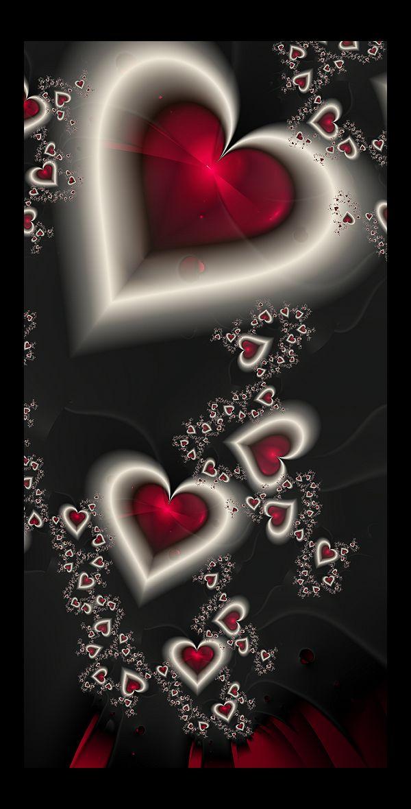 untitled fractals: 8 by celestial-void on deviantart ~ valentine fractal