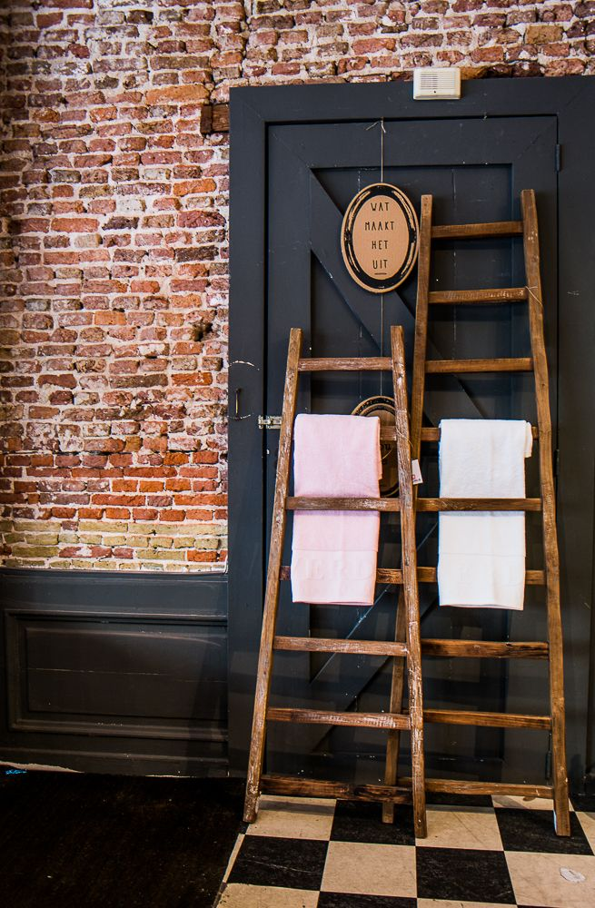 Nieuwe accessoires binnen van DTP-import bij Meubls. Stoere ladders leuk voor in de bad of slaapkamer! Verkrijgbaar in vier verschillende afmetingen.