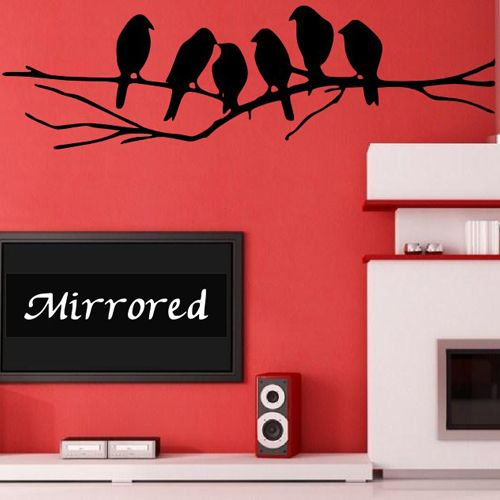 Daldaki Kuşlar Duvar Sticker