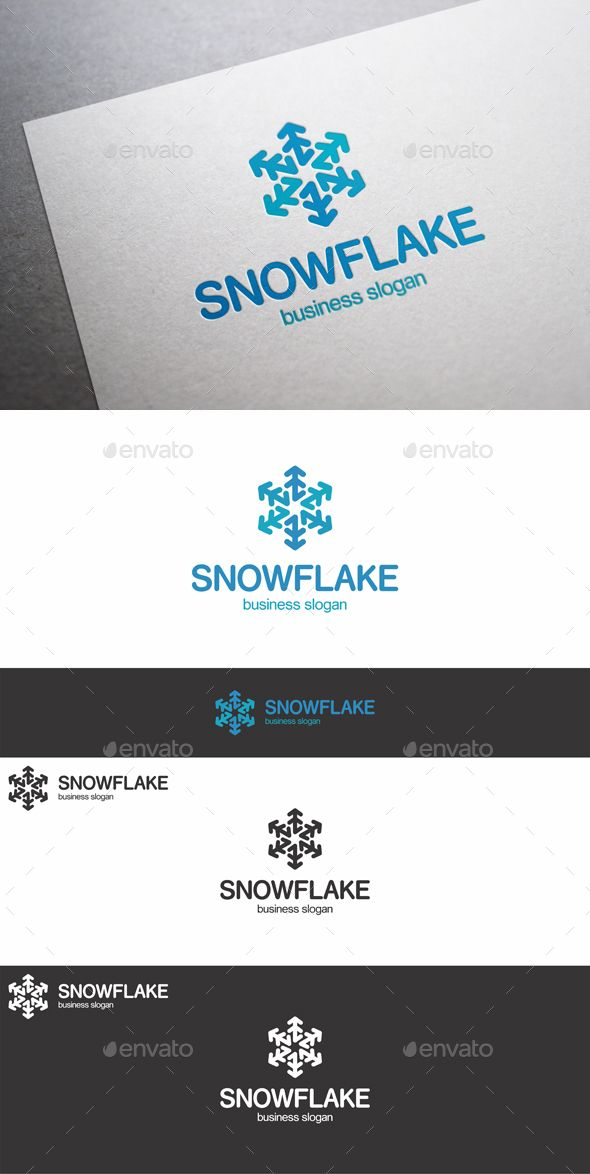 18 best Logo - Snowflake theme images on Pinterest | Corporate ...