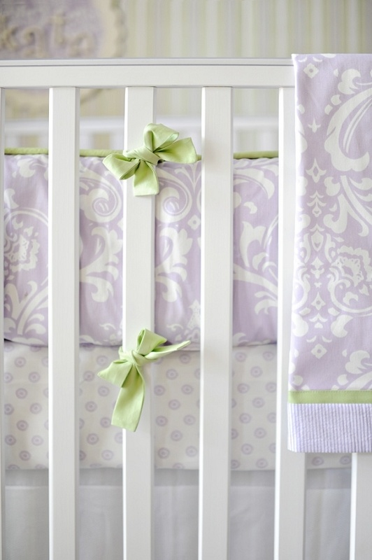 Buy Your Sweet Violet Crib Bedding Set By New Arrivals Inc. Delight Your  Little Girlu0027s Nursery With New Arrivals Incu0027s Sweet Violet Baby Bedding Set!