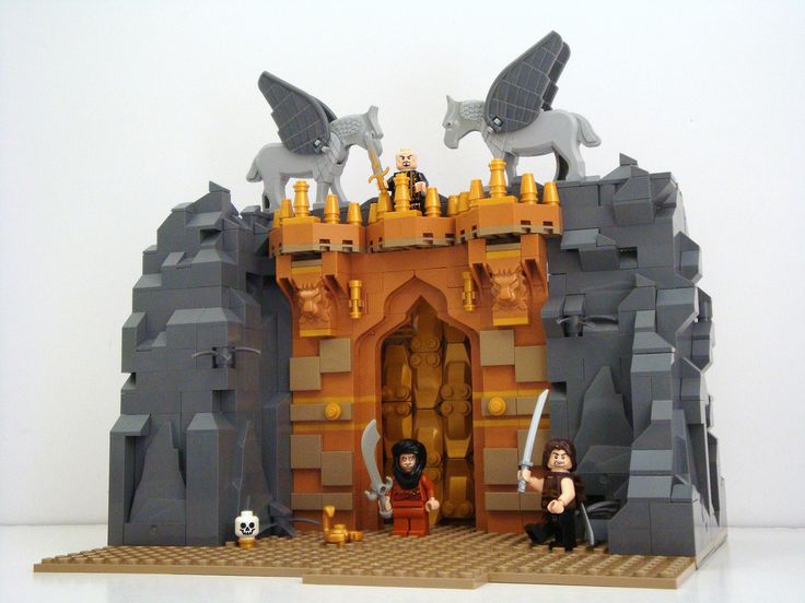 LEGO Prince of Persia MOC Eurobricks Contest Hassansin's Lair | Flickr - Photo Sharing!