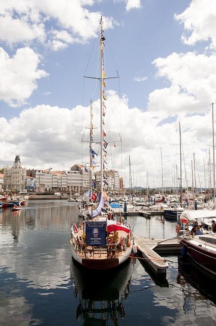 Tall Ships Races, Veleros en A Coruña ,  2012 by Frabisa, via Flickr