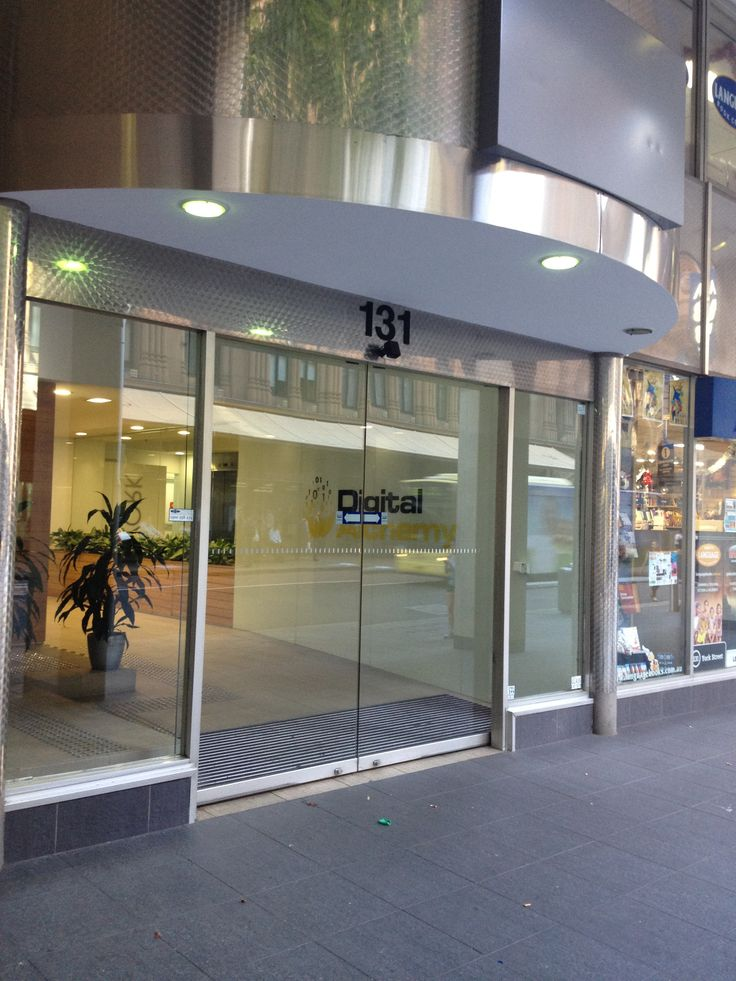 Entrance to our office in Sydney at 131 York Street.