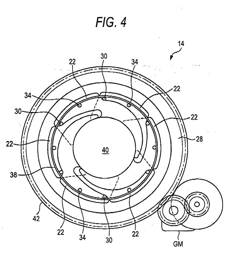 Patent EP1841212A1 - Lens aperture-adjustment device and closed circuit television camera - Google Patents