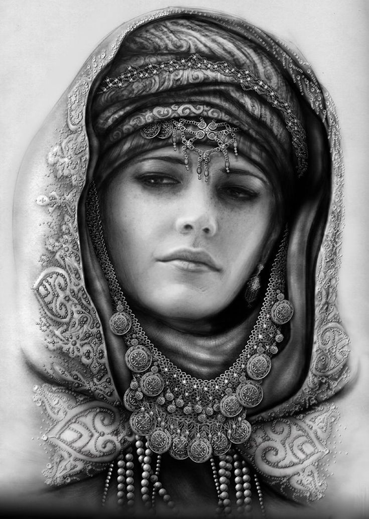 allpix.com / графика рисунки карандашом портрет