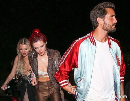 Bella Thorne and Scott Disick Reunite in L.A. and Hold Hands After Partying