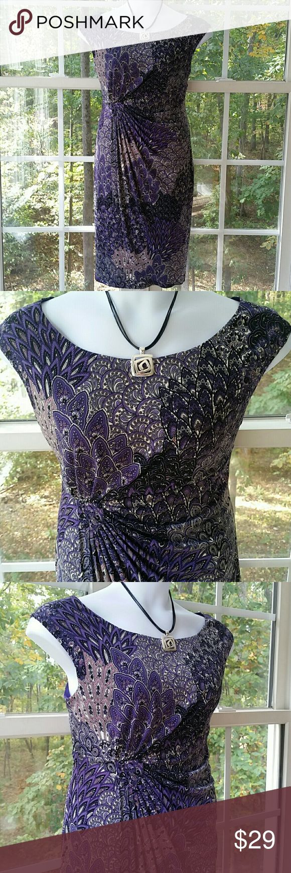 Connected Apparel Beautiful Purple Passion Connected Apparel Beautiful Purple Passion Dress. Excellent condition. Please let me know if you have any questions. Connected  Dresses