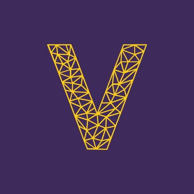 V Letter Logo Vector And Png Letter Logo B Letter Logo Letter Icon