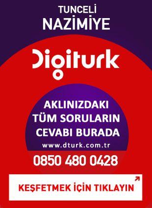 Digiturk Nazımiye - Servis Satış Noktası - 0428 Tunceli