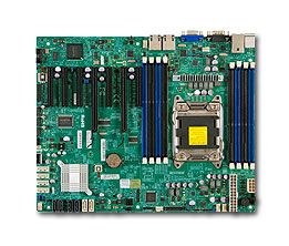 Global SKUs Motherboards : X9SRL-F  Single socket R (LGA 2011) supports Intel® Xeon® processor E5-2600/1600 and E5-2600/1600 v2 family† Intel® C602 chipset; QPI up to 8.0GT/s Up to 512GB ECC DDR3, up to 1866MHz; 8x DIMM sockets Expansion slots: 2 PCI-E 3.0 x8, 2 PCI-E 3.0 x8 (in x16), 2 PCI-E 3.0 x4 (in x8), 1 PCI-E 2.0 x4 (in x8) Intel® 82574L Dual port GbE LAN 2 SATA3 (6Gb/s), 4 SATA2 (3Gb/s), & 4 SATA2 (3Gb/s) ports via SCU Integrated IPMI 2.0  http://www.pcconnectz.com/globel.php