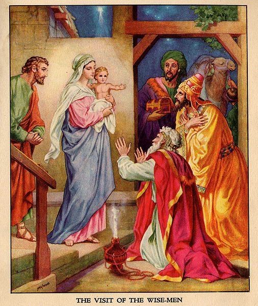 Christmas Traditions (From http://en.wikipedia.org/wiki/Image:The_visit_of_the_wise-men.jpg) Great Squidoo lense on Christmas traditions around the world