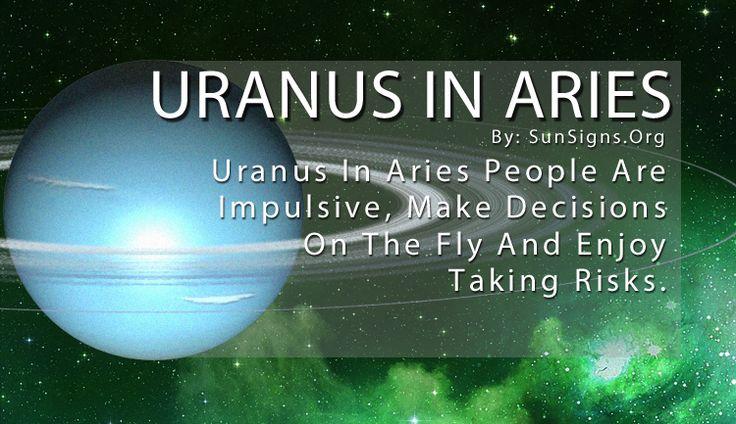 Uranus In Aries - Sun Signs