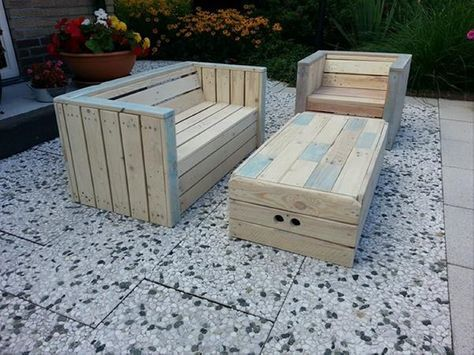 How To Make Garden Furniture Out Of Pallets