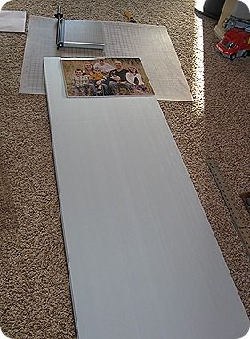 How to make canvas picture frames.  Great idea.