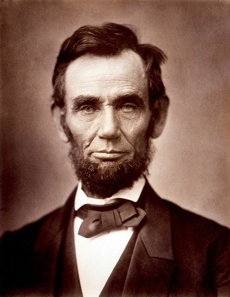 """a look into the presidency of abraham lincoln Oct 15, 1860: grace bedell, age 11, tells abraham lincoln to """"let your   apparently aiming for a statelier look than bedell gave him credit for."""