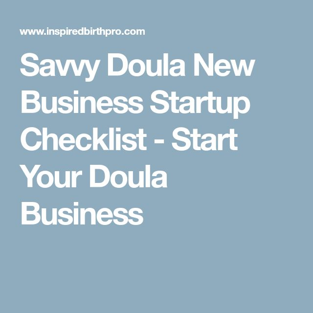The 25+ best Doula business ideas on Pinterest Doula, Boots - business startup checklist