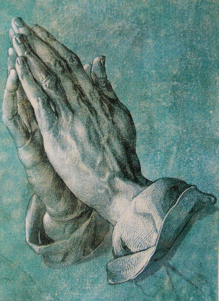 Dürer, Mains en prière - 1508                                                                                                                                                                                 Plus