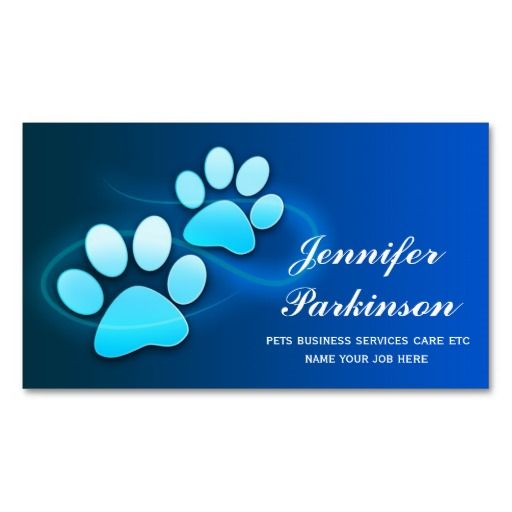 1000 images about veterinary business cards on pinterest for Veterinarian business cards