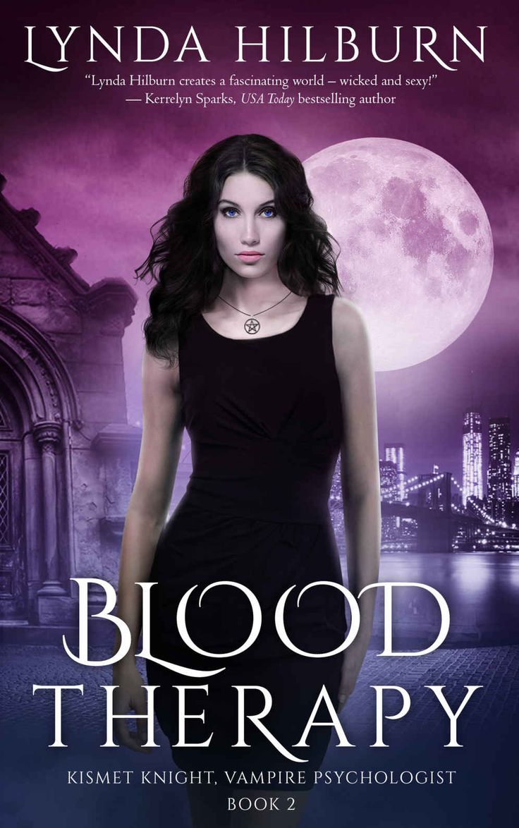 Blood Therapy: Book 2 (Kismet Knight, Ph.D., Vampire Psychologist Series) by Lynda Hilburn…
