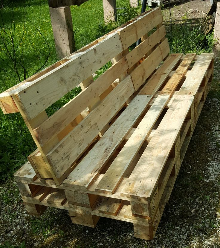 25 best ideas about banc en palette on pinterest bancs for Banc en bois de palette