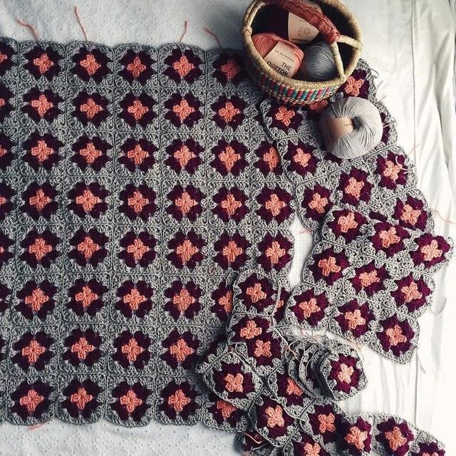 Tropea Cardigan Knitted Blankets Crochet Crochet Squares
