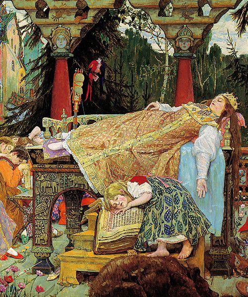 La bella durmiente / Спящая царевна -Viktor Vasnetsov