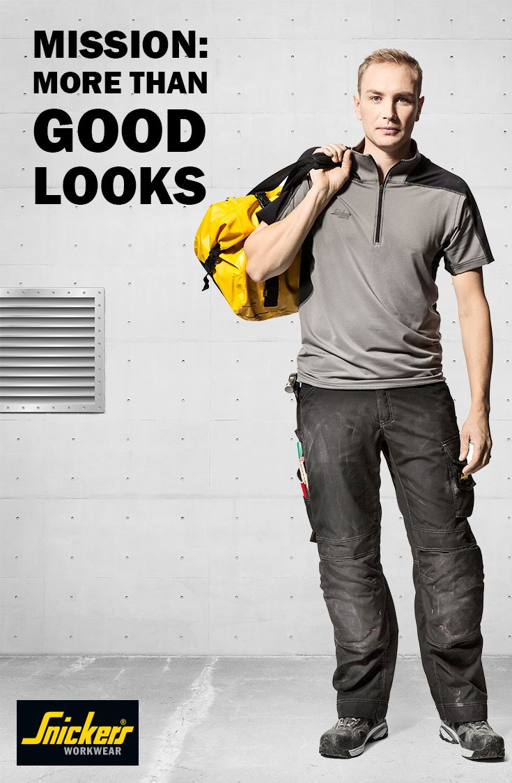 When you're working you want to look sharp. Our top wear looks great, but did you know it is made with highly durable fabrics and offers extra functionality like our patented MultiPockets™? So you don't only look good, you can move around and work your best!