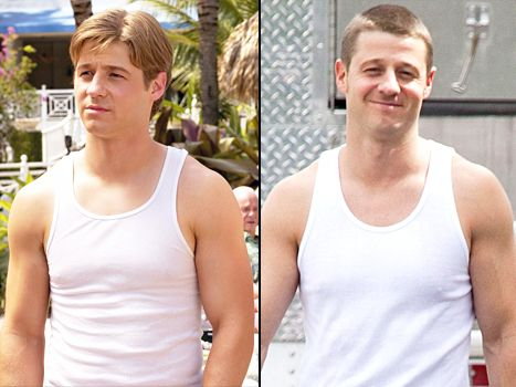 Benjamin McKenzie brought back Ryan Atwood's O.C. tank top on the set of his new show, Gotham!