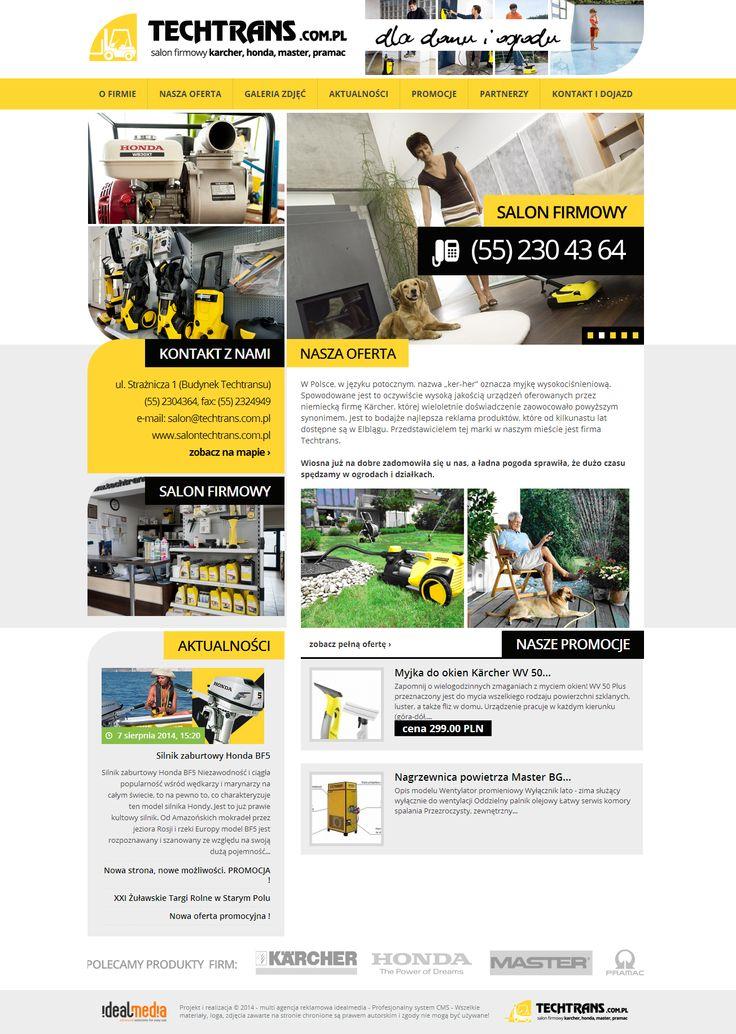 WebDesign 2014 - grafika dla firmy Salon techtrans