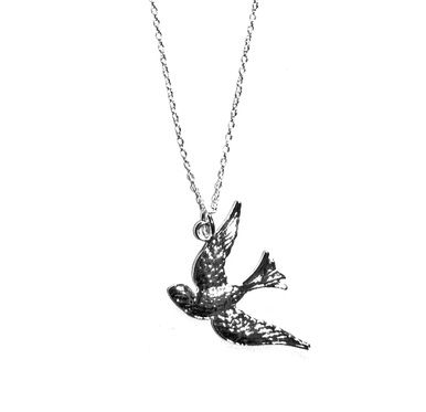 Silver Swallow Necklace - Venture Collection - Online Men's & Women's Fashion Accessories Store with Free Shipping