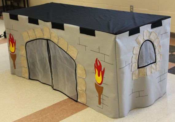 Made to order Castle Custom Tablecloth fort by MegAndMama on Etsy