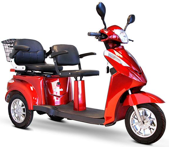 2016 Model EW-66 Tandem 2-Seat Mobility Scooter