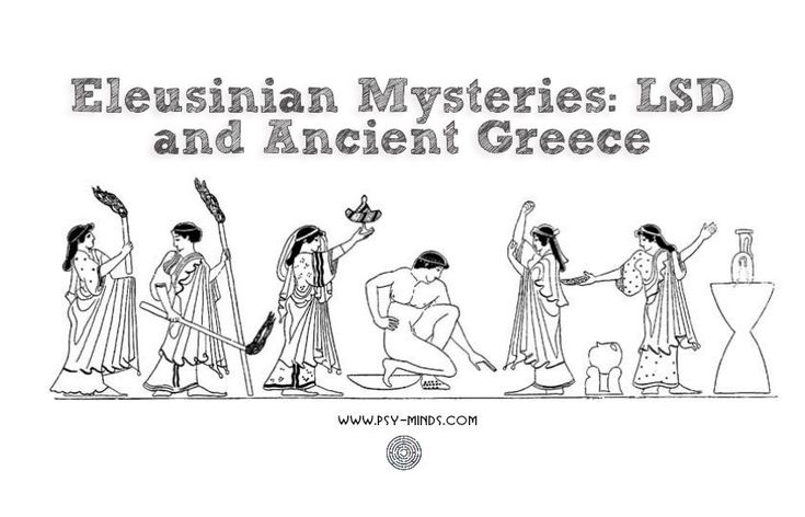 Eleusinian Mysteries: LSD and Ancient Greece - @psyminds17