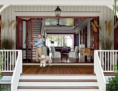 The way things used to be dog run old house w a cross Modern breezeway house plans