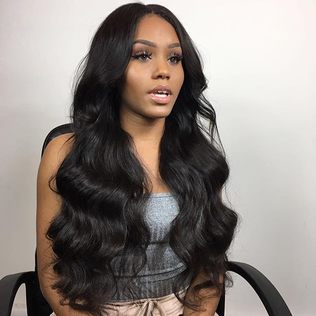 "@tamarah.djalloul  slaying as per  Lace closure wig , the most durable and easy to wear type of wig .  12"" closure 22""/24""/24"" @laroshhair"