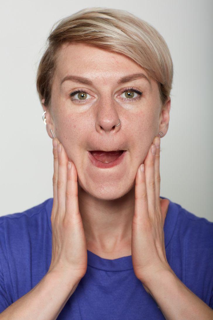 йога для лица в картинках сделал, фото поменялось