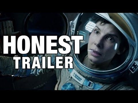'Gravity' Honest Trailer Nails All the Things That Weigh the Movie Down via Screen Junkies