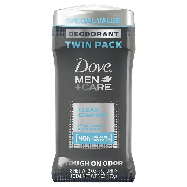 Dove Men+Care Clean Comfort Deodorant - 3.0oz/2pk
