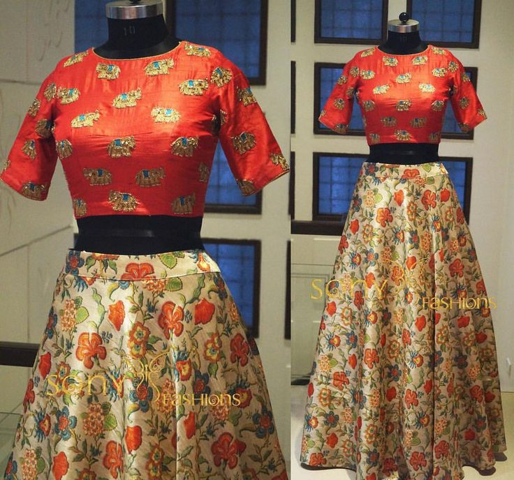Trendy floral print crop top designed specially for you!!ud83dude0d floraldress indowestern colourful For couture details:-Mail us at:-sonyreddy24@gmail.com Call or whts app on:-8008100885 ..... 06 November 2016