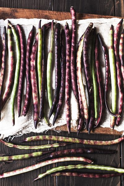 Purple Hull Peas - the deer got my entire harvest this year